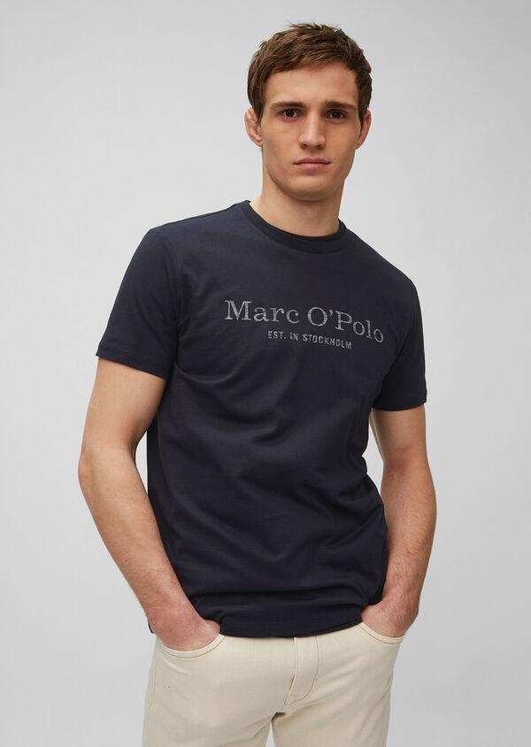Logoshirt in nachhaltiger Single Jersey-Qualität