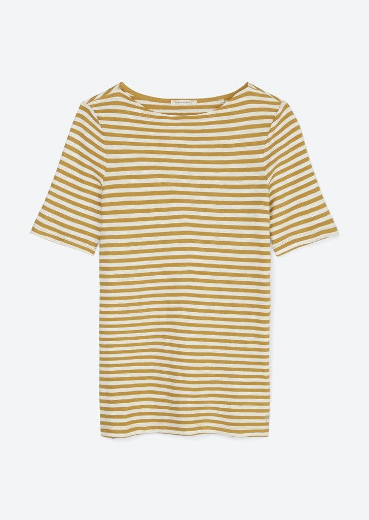 Streifenshirt aus Organic Cotton
