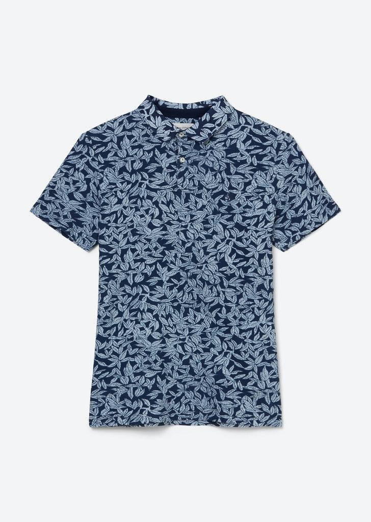 Kurzarm-Poloshirt Piqué shaped