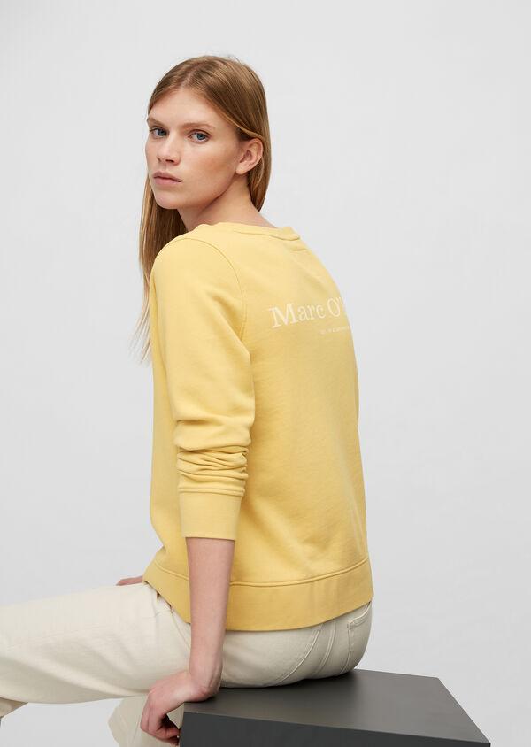 Sweatshirt mit Logo auf der Rückseite