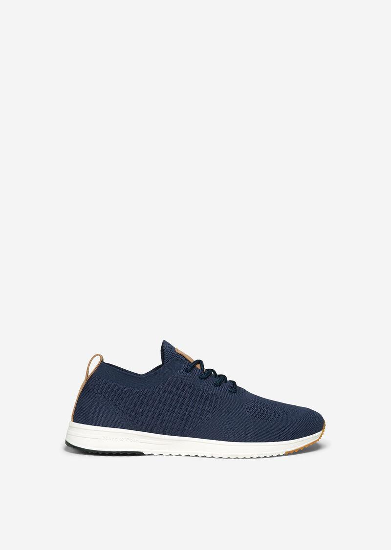 Sneaker in leichter Strick-Qualität