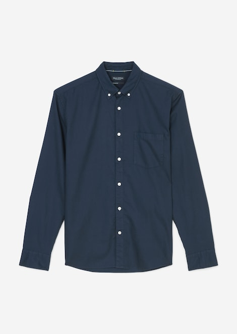 Langarm-Button-Down-Hemd