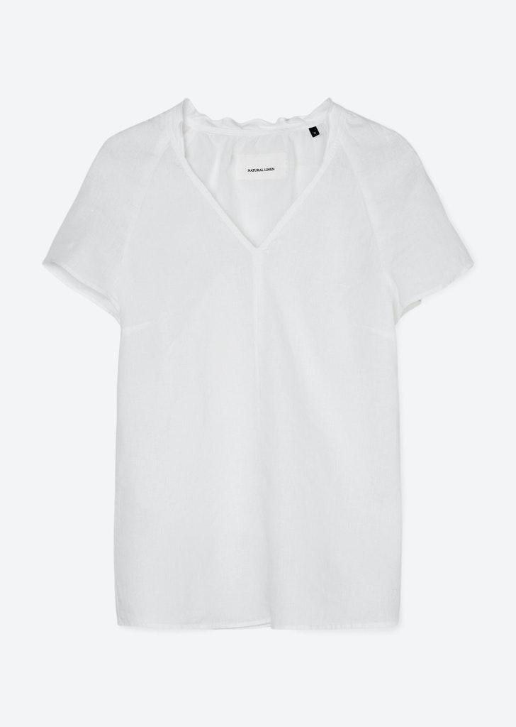 Tunika-Bluse aus leichter Leinenqualität