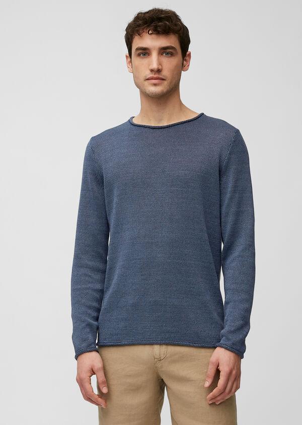Pullover aus hochwertigem Leinen-Baumwoll-Mix