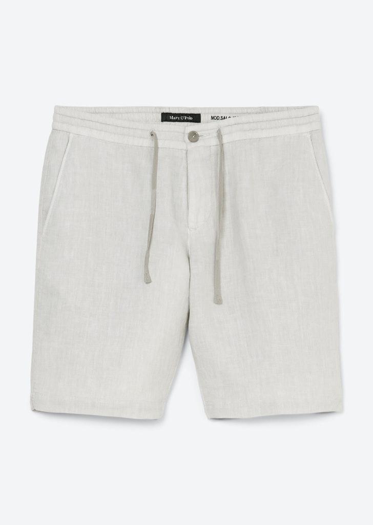Leichte Leinen-Shorts