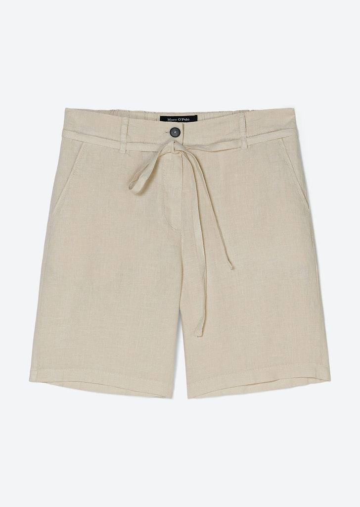 Shorts Modell SKREA aus reinen Leinen