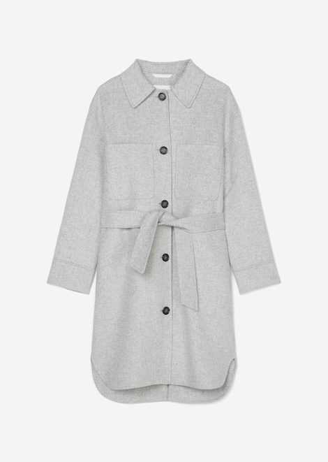 Mantel im Shacket-Stil