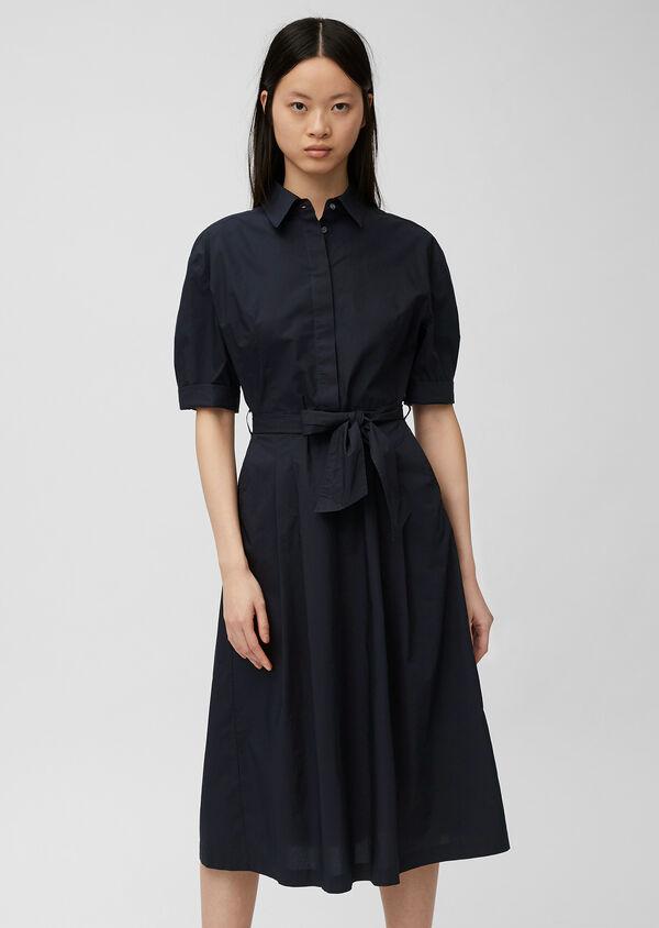 Sommerliches Blusenkleid mit Gürtel