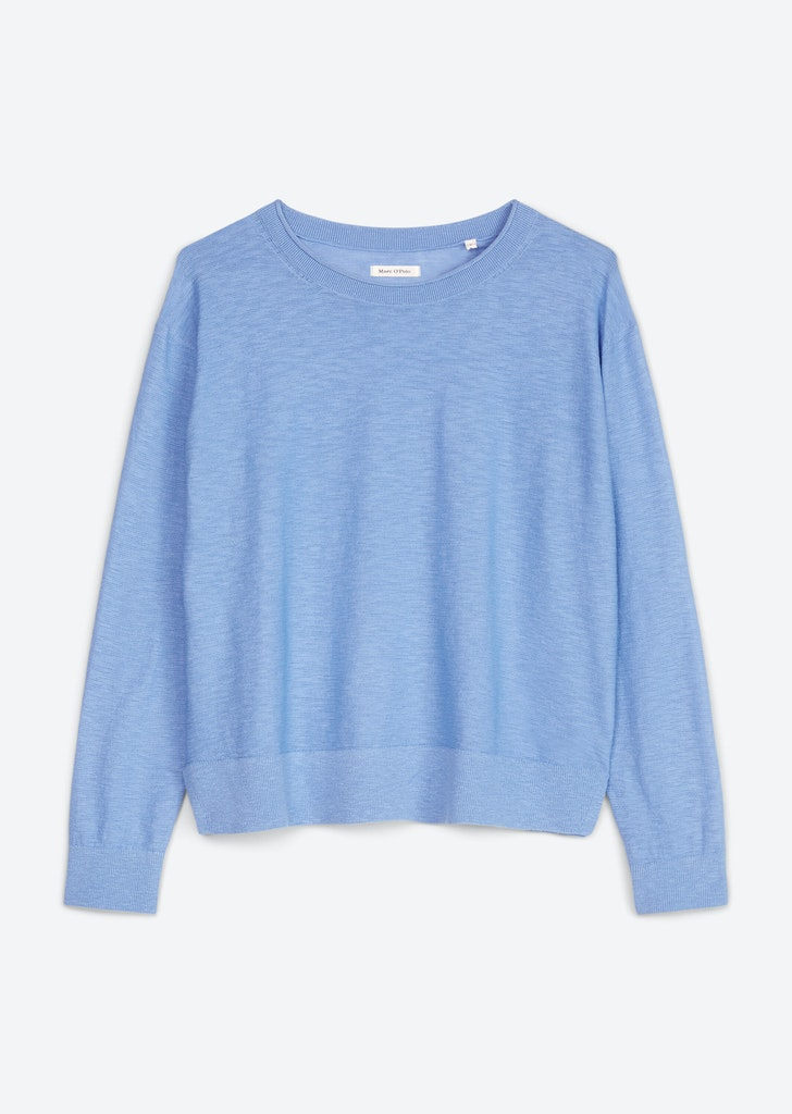 Feinstrick-Pullover aus Organic Cotton