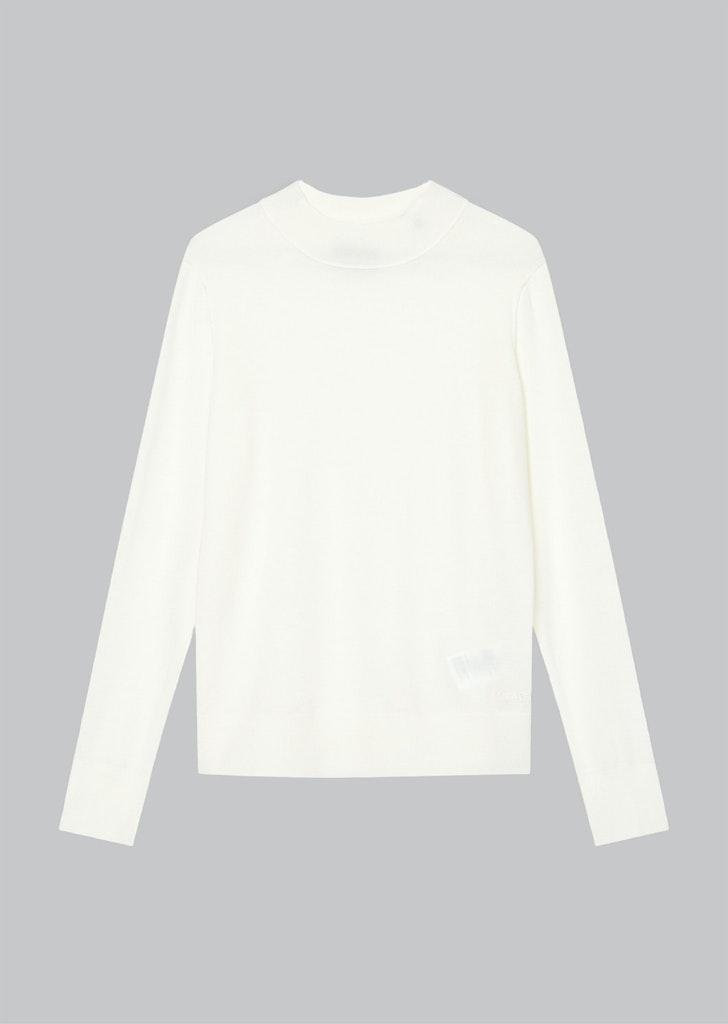 Feinstrick-Pullover aus Merinowolle