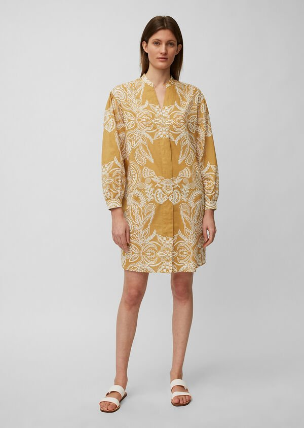 Sommerliches Tunika-Kleid