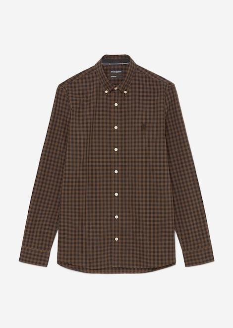 Langarm-Popeline-Hemd shaped