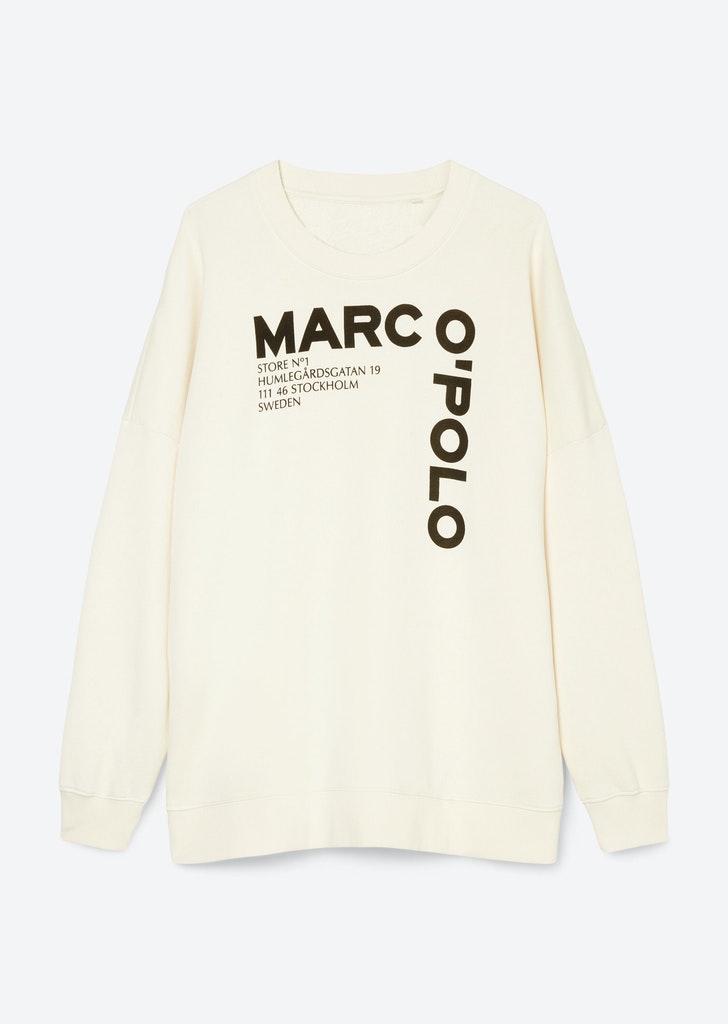 Lässiges Sweatshirt mit Logoprint
