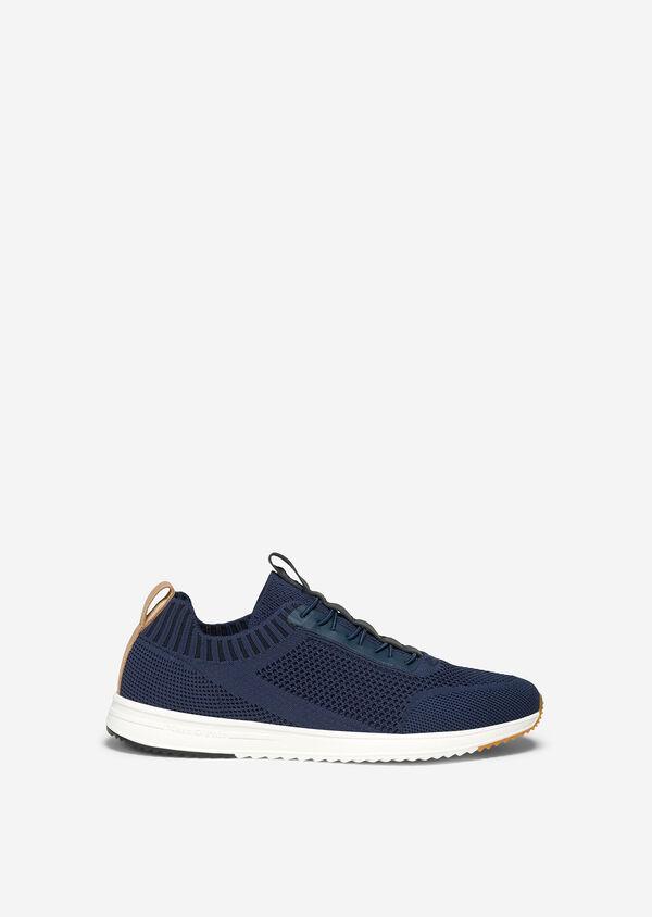 Sneaker mit elastischen Schnürbändern