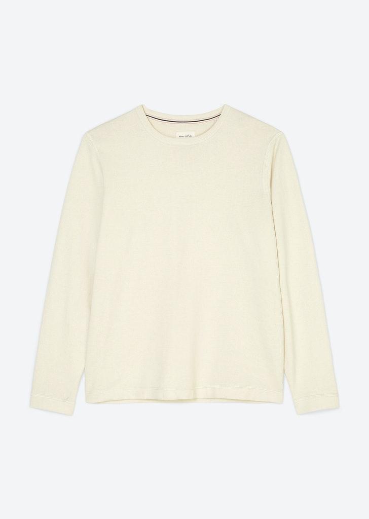 Feinstrick-Pullover aus Baumwoll-Seide Mix