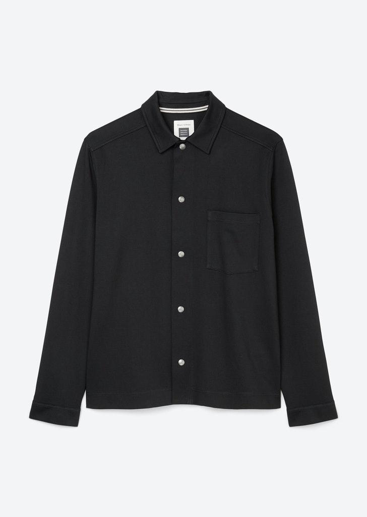 Lässiges Overshirt aus Baumwoll-Stretch