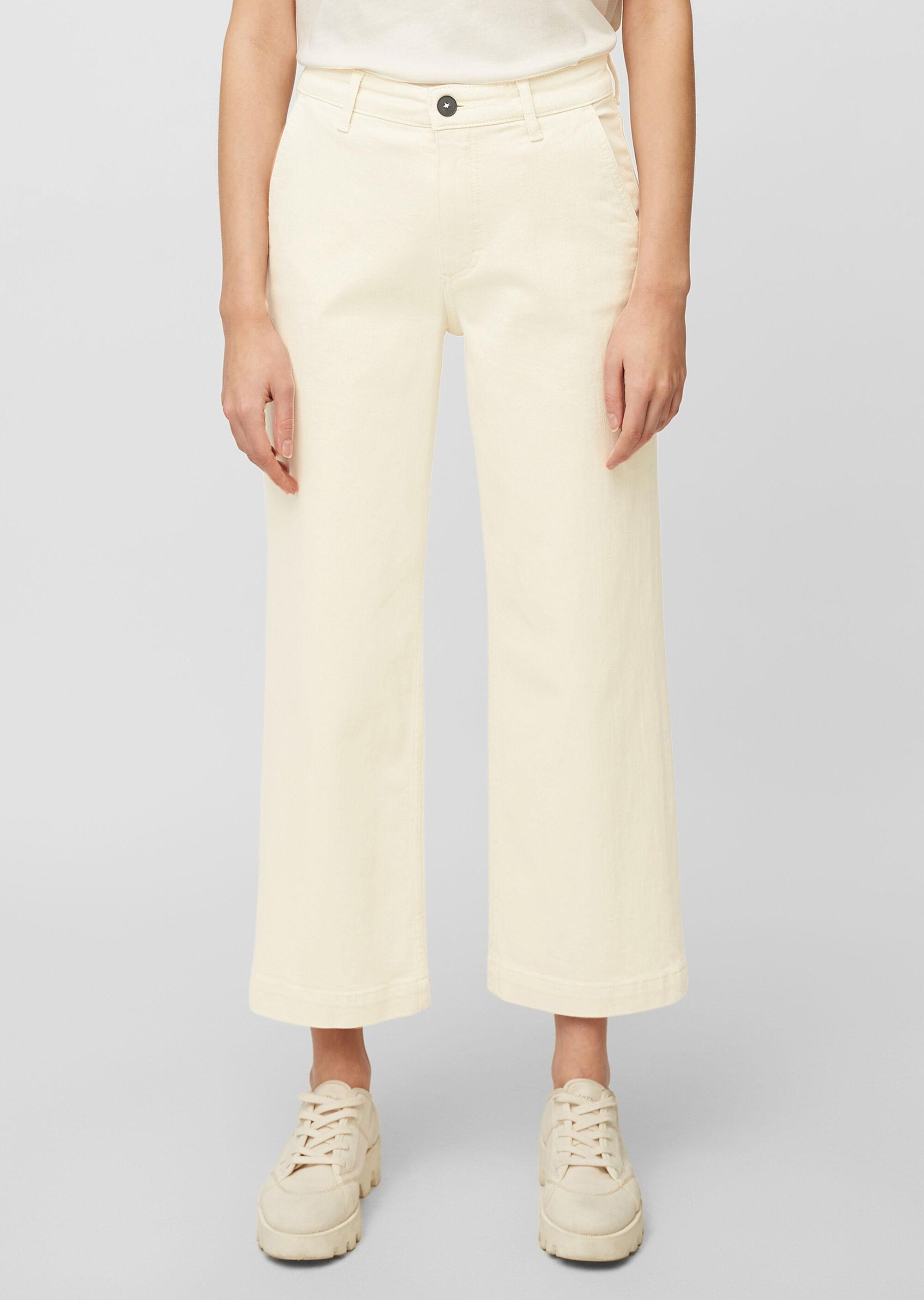 Jeans-Culotte aus Organic Cotton Mix