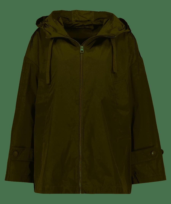 Outdoor-Kapuzenjacke mit wasserabweisender Oberfläche