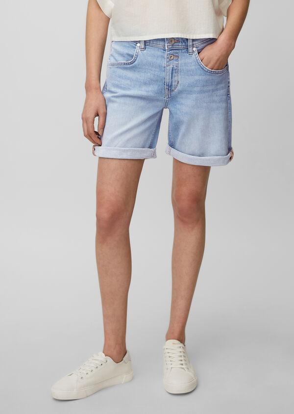 Jeans-Shorts Modell THEDA boyfriend mid waist