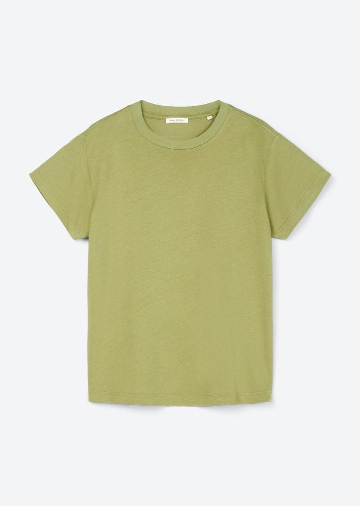 Boxy-Shirt mit Rundhalsausschnitt