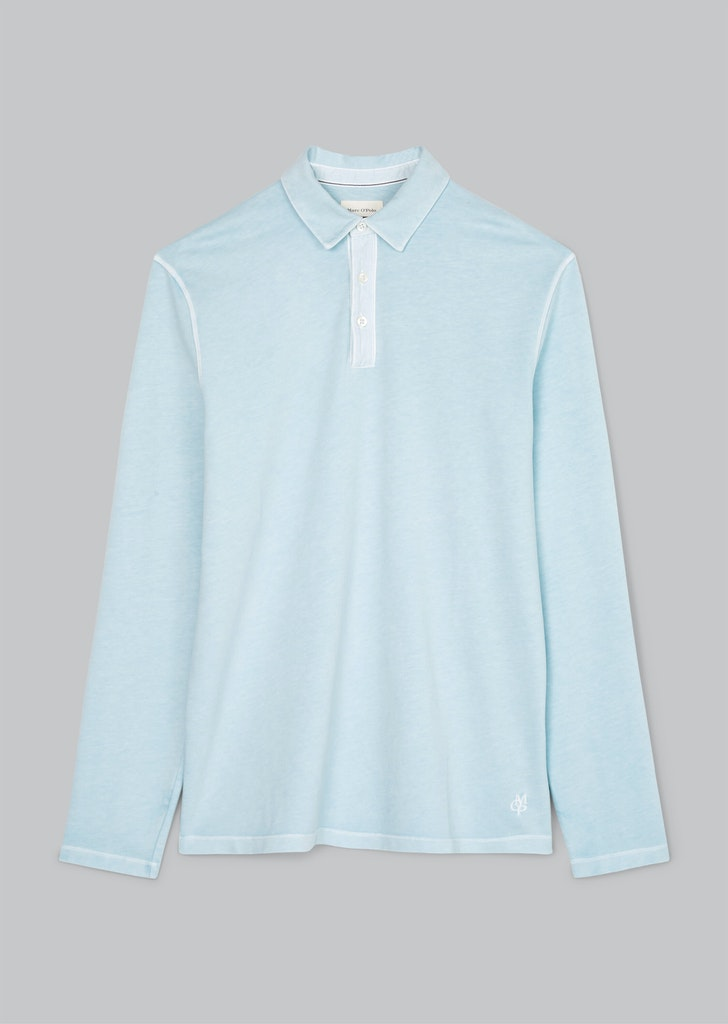 Langarm-Poloshirt regular