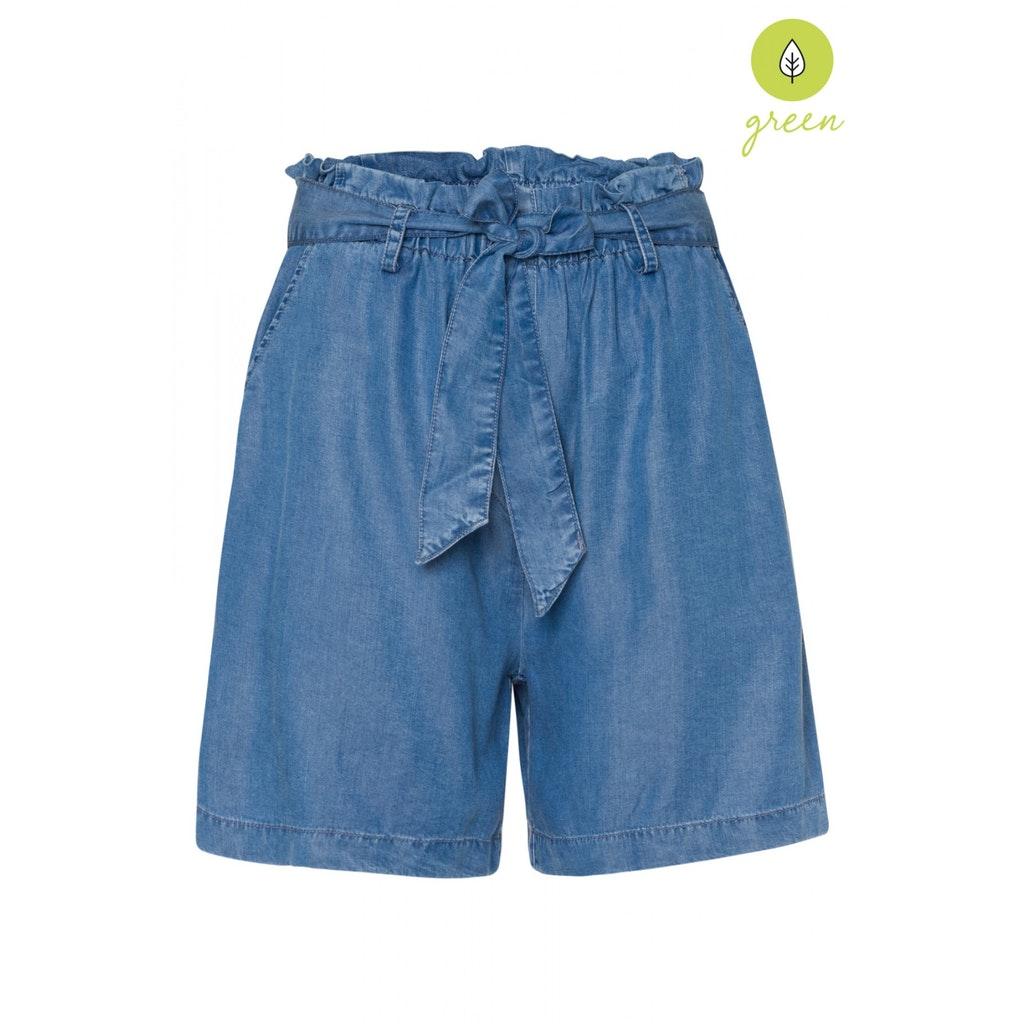 Lyocell Jeans-Shorts