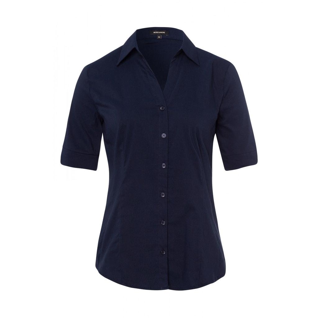 Baumwoll-Stretch Bluse