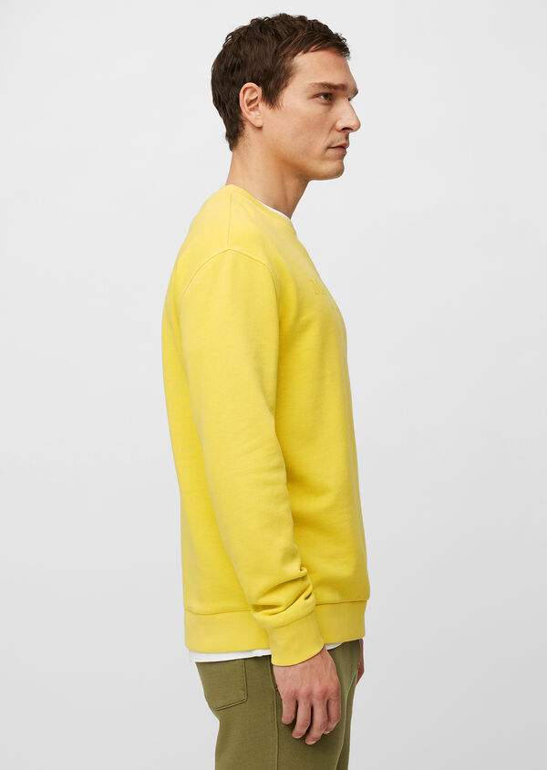 Logo-Sweater aus Organic Cotton
